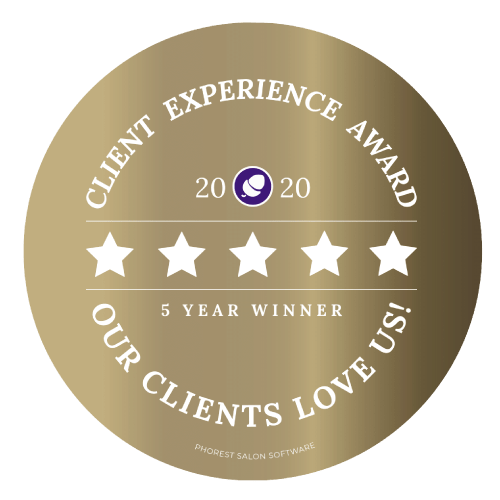 TIME to be ME Phorest Client Gold Award